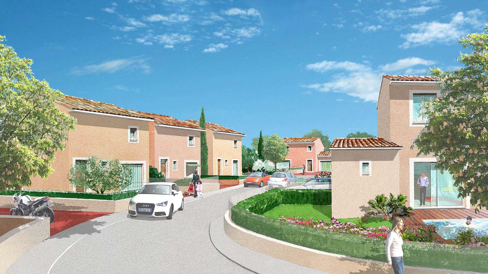 Le grand romain programme immobilier neuf pont saint esprit for L jardine pont saint esprit